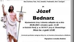 Zmarł Józef Bednarz. Żył 96 lat.