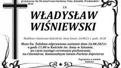 Zmarł Władysław Wiśniewski. Żył 96 lat.