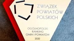 Powiat Malborski wyróżniony w Ogólnopolskim Rankingu Gmin i Powiatów.