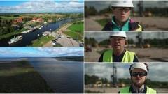 Prace przy drugiej części budowy drogi wodnej łączącej Zalew Wiślany z Zatoką Gdańską nabierają tempa [wideo, zdjęcia]