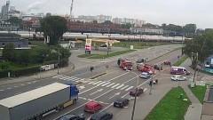 Malbork. Sprawca kolizji na Alei Wojska Polskiego miał ponad 2 promile alkoholu. Zobacz moment zderzenia! [wideo]
