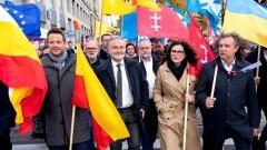 Polski Ład to mega podatek – w środę pod Sejmem protestowali samorządowcy.