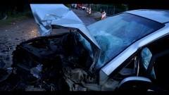 Nowy Dwór Gdański. Pijany kierowca spowodował czołowe zderzenie.