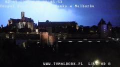 Burza nad Zamkiem w Malborku - 01/02.09.2015