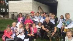 Uczniowie Szkoły Podstawowej nr 5 w Malborku odwiedzili policjantów – 21.05.2015