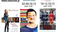 """Repertuar Sztumskiego Kina """"Powiśle"""" na miesiąc październik - 01-31.10.2015"""