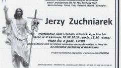 Zmarł Jerzy Zuchniarek. Żył 70 lat.
