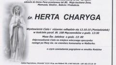 Zmarła Herta Charyga. Żyła 80 lat