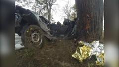 Śmiertelny wypadek w Litewkach. Kierowca i pasażer zginęli na miejscu – 16.10.2015