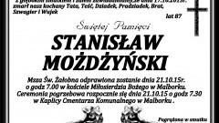 Zmarł Stanisław Możdżyński. Żył 87 lat.