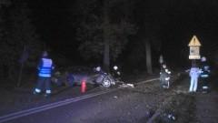 Śmiertelny wypadek w Starym Dzierzgoniu. Jedna osoba zginęła na miejscu druga walczy o życie w szpitalu – 25.10.2015