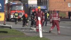 Tir przewrócił przydrożną lampę na Armii Krajowej w Malborku. Weekendowy raport służb mundurowych – 26.10.2015