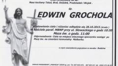 Zmarł Edwin Grochola. Żył 88 lat.