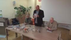 """Promocyjne spotkanie z czytelnikami kwartalnika """"Prowincja"""" w Malborku - 18.11.2015"""