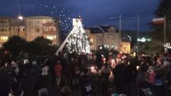 Uroczyste rozświetlenie choinki w Dzierzgoniu – 04.12.2015