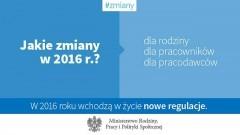 Jakie zmiany w 2016 roku? - 07.01.2016