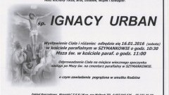 Zmarł Ignacy Urban. Żył 60 lat
