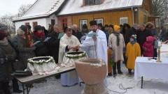 Grekokatolicy obchodzą Jordan. Święto Objawienia Pańskiego w Cyganku - 19.01.2016