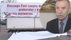 Wysoki urzędnik sztumskiego ratusza zniszczył baner Antoniego Fili? - 31.01.2016