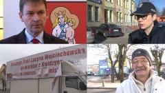 Oświadczenie burmistrza, opinie mieszkańców i informacja policji. Burza wokół zniszczonego baneru w Sztumie - 01.02.2016