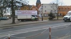 Antoni Fila powiesił nowy banner. Zobacz, co na to mieszkańcy Sztumu - 03.02.2016