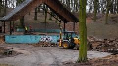 Gruntowny remont amfiteatru. Ruszyła rewitalizacja Parku Miejskiego w Sztumie – 26.02.2016