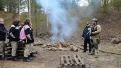 We wtorek policjanci sztumskiej komendy wzięli udział w zajęciach z uczniami klasy mundurowej w Dzierzgoniu - 15.03.2016