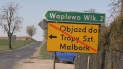 Droga wojewódzka 515 na odcinku Ramoty – Tropy Sztumskie zamknięta do niedzieli – 12.04.2016