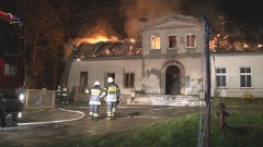 Pałacyk w Polaszkach znowu w ogniu. We wsi grasuje podpalacz? - 18.04.2016