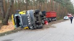 Dwa wypadki: ciężarówki i dostawczaka. Weekendowe raport sztumskich służb mundurowych – 25.04.2016