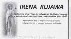 Zmarła Irena Kujawa. Żyła 87 lat.