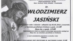Zmarł Włodzimierz Jasiński. Żył 89 lat.