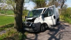 24-latek poszkodowany w wypadku na trasie Myślice-Gisiel – 04.05.2016