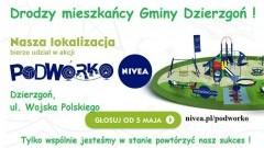Wygrajmy To Jeszcze Raz! Gmina Dzierzgoń bierze udział w walce o Podwórko Nivea.