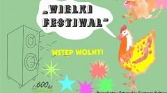 """Sztum: Zaproszenie na muzyczny spektakl dla dzieci - """"Wielki Festiwal"""" - 12.05.2016"""