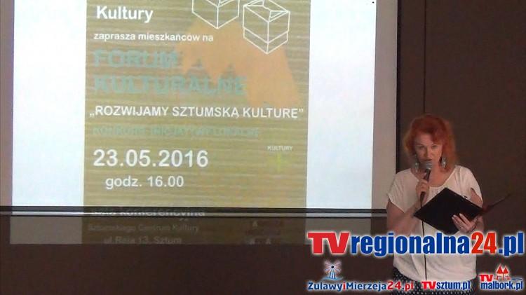 """Sztumskie Centrum Kultury przedstawiło wyniki badania: """"Diagnoza i rozwój kapitału kulturowego i społecznego: 23.05.2016"""