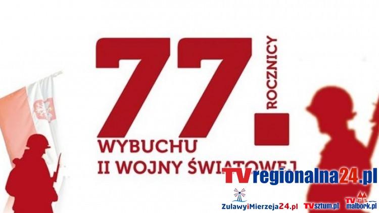 Sztum. 77 rocznica wybuchu II Wojny Światowej - 01.09.2016