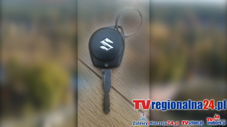 Sztum: Znaleziono kluczyk do Suzuki przy leśnej dróżce na terenie leśnictwa Wilki - 07.09.2016
