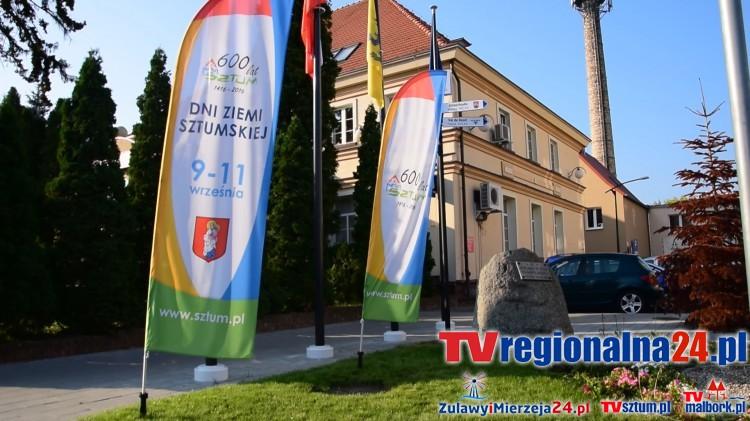 Ukradli flagi promujące Dni Ziemi Sztumskiej, a później je porzucili – 09.09.2016
