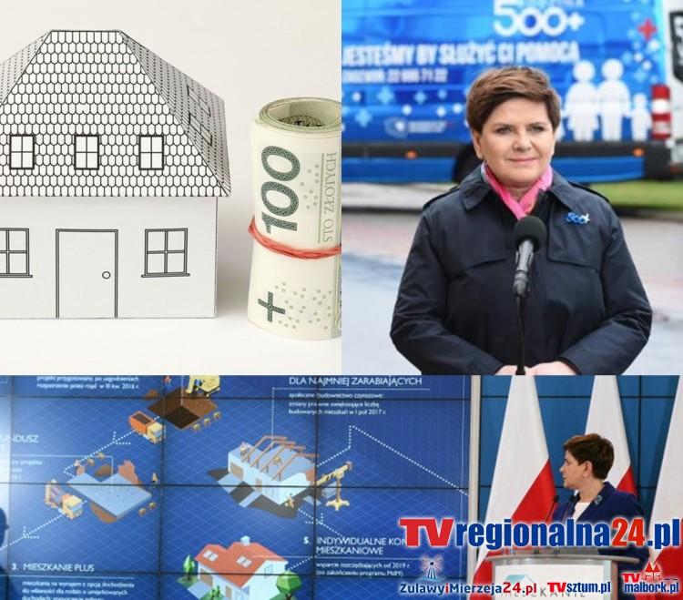 Program Mieszkanie + nie dla mieszkańców Nowego Dworu Gd., Malborka i Sztumu - 14.10.2016