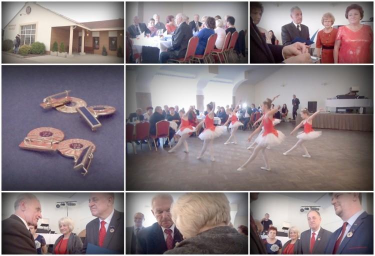 Odznaczenia, dyplomy i podziękowania z okazji Dnia Seniora.Międzynarodowy Dzień Osób Starszych w Malborku. Ponad 100 seniorów uczestniczyło w spotkaniu - 17.10.2016