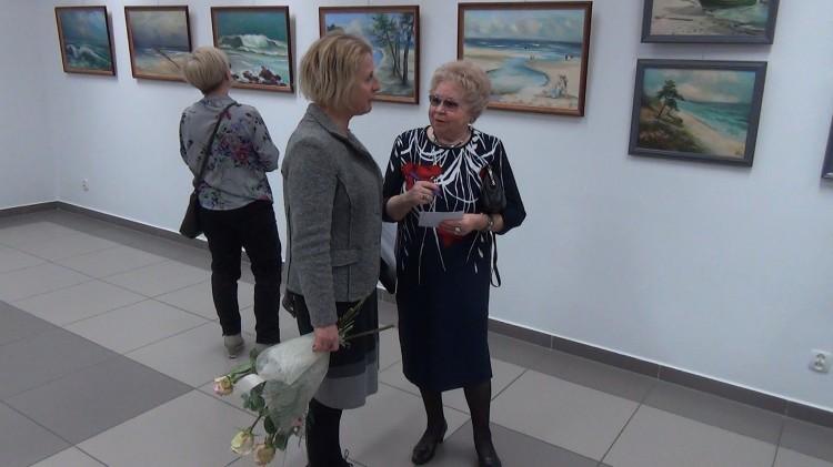 Wystawa malarstwa Krystyny Jażdżewskiej - Baranowskiej. Obrazy z pięciu plenerów Polski – 09.12.2016 (WIDEO)
