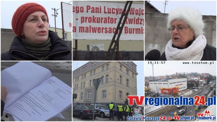 SZTUM: Protestowali przeciw Antoniemu Fili. Przemarsz i okrzyki pod ratuszem i banerem (RELACJA WIDEO, WYWIADY) – 20.01.2017