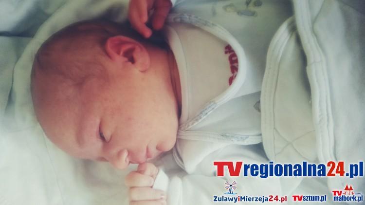 Kajetan, witaj na świecie w Powiatowym Centrum Zdrowia Sp. z.o.o. w Malborku! - 07.02.2017