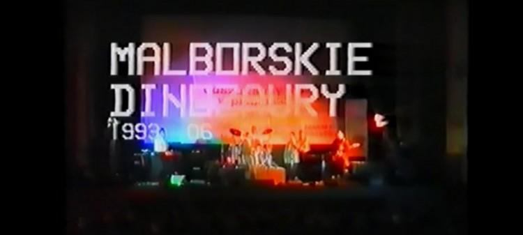 Malborskie Dinozaury - Koncert Kino Capitol w Malborku - lata-90te.