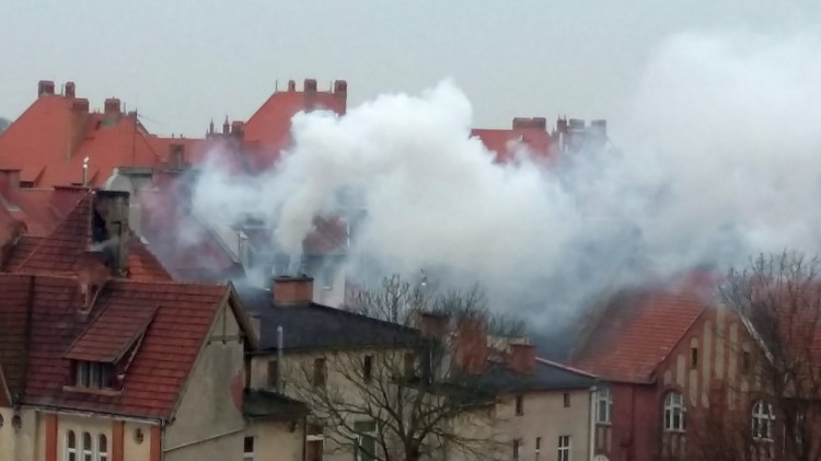 Ciekawe czym tu palono? - pyta zaniepokojony mieszkaniec Malborka – 21.04.2017
