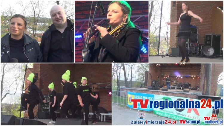 Dzierzgoń: Dzierzgońska majówka na Wzgórzu Zamkowym. Zabawa do późnego wieczora – 02.05.2017