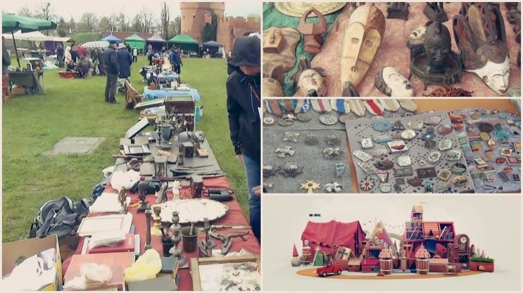 Afrykańskie maski, stare monety i piękna porcelana. II Jarmark Staroci w Malborku – 29/04 – 01/05.2017