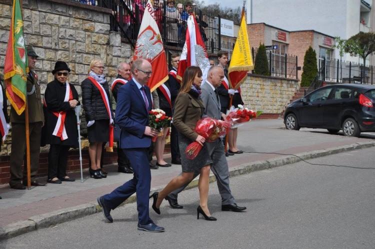 Obchody święta Konstytucji 3 maja w Dzierzgoniu