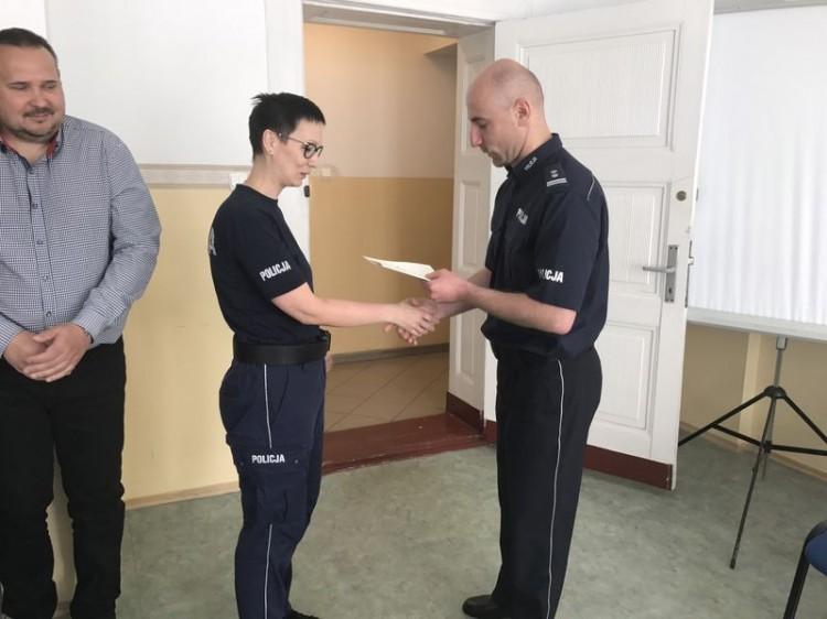 Za wzorową służbę awanse dla sztumskich policjantów – 30.05.2017
